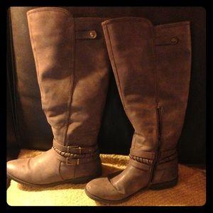 Knee high wide calf boots!